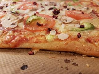 Pizza med botten
