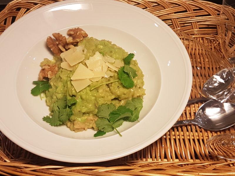 lättlagad vegetarisk risotto