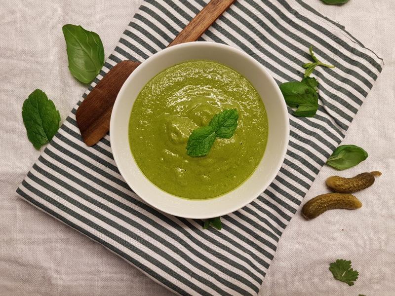 vegetarisk salsa verde