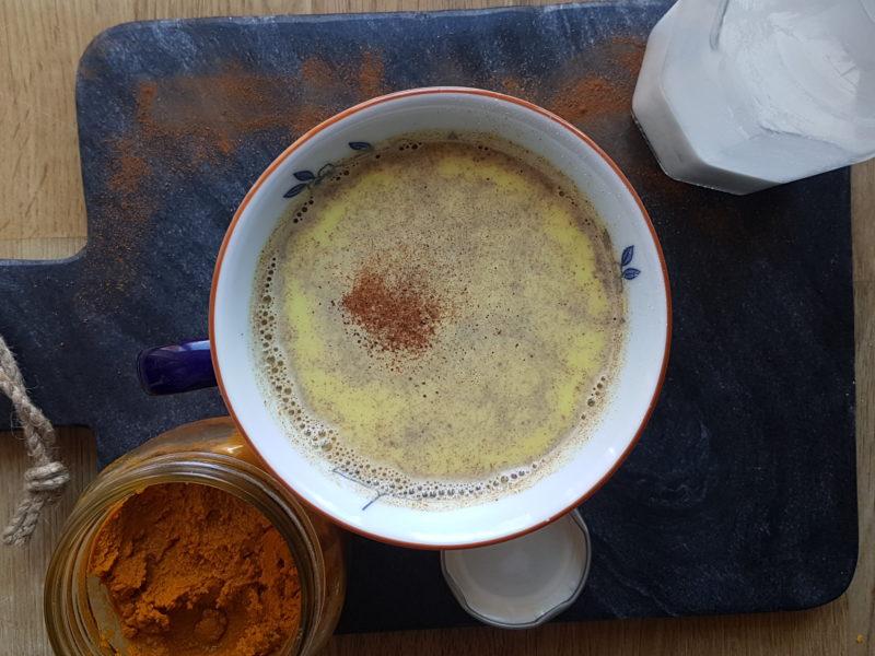 recept på guldmjölk