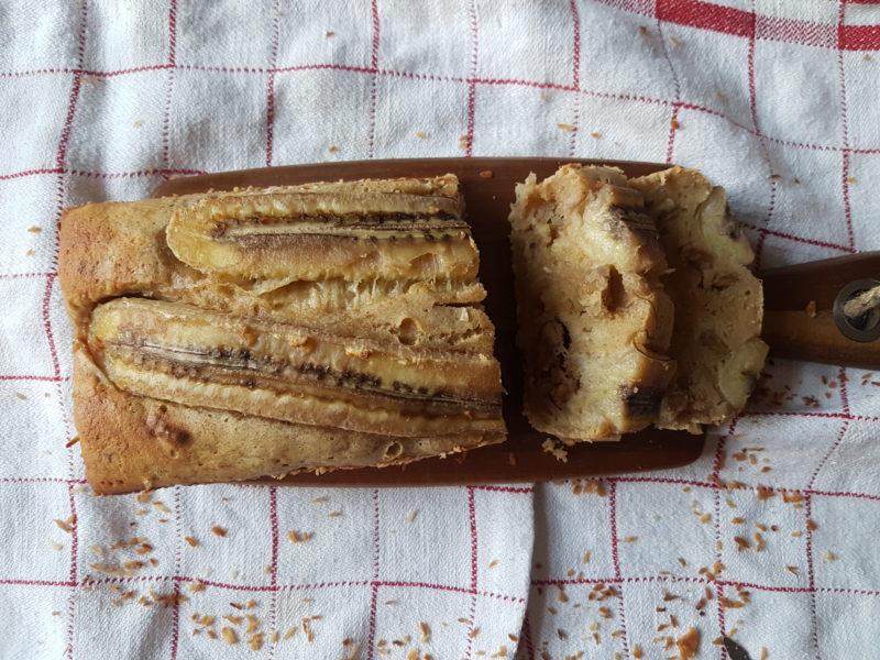 saftigt bananbröd