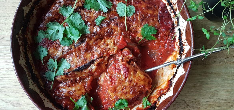 italiensk auberginegratäng