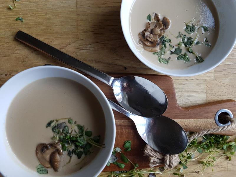 nyttig champinjonsoppa