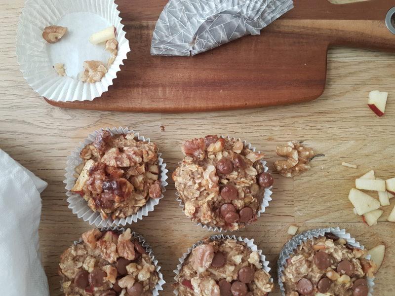 nyttiga frukostmuffins