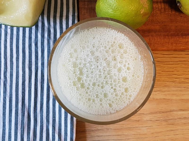 alkoholfri drink med melon
