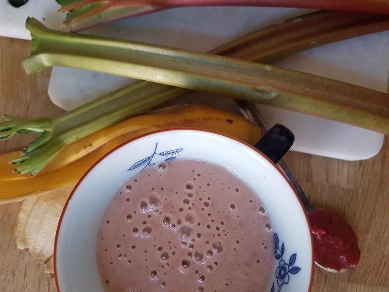 rabarber smoothie recept