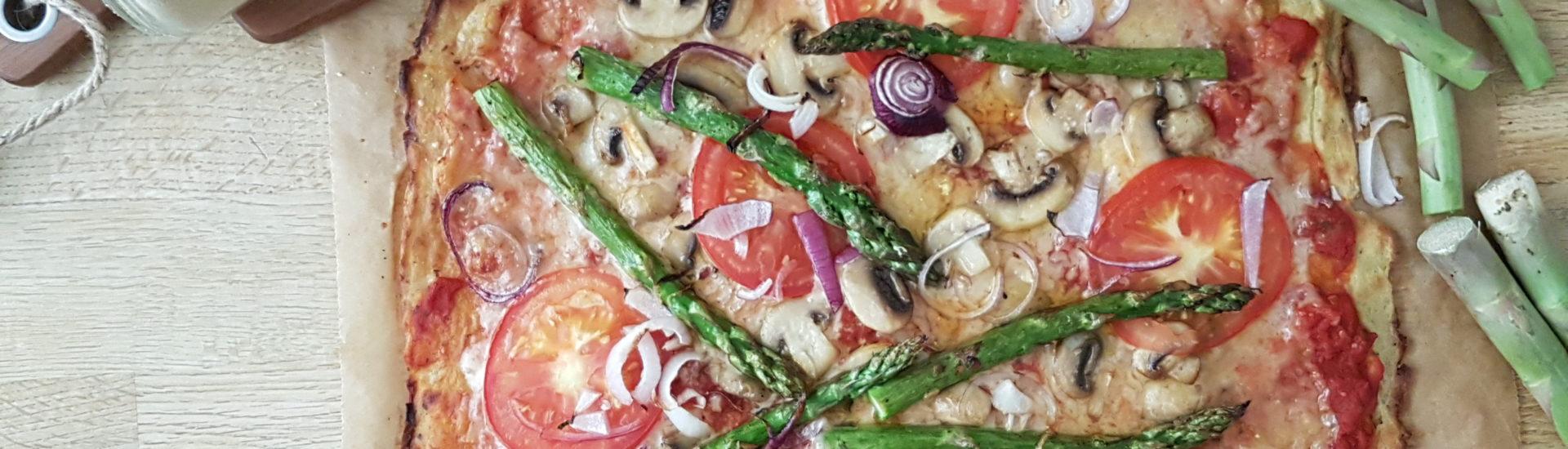 pizza med potatisbotten