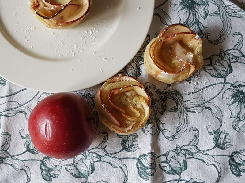 äppelrosor med mandel