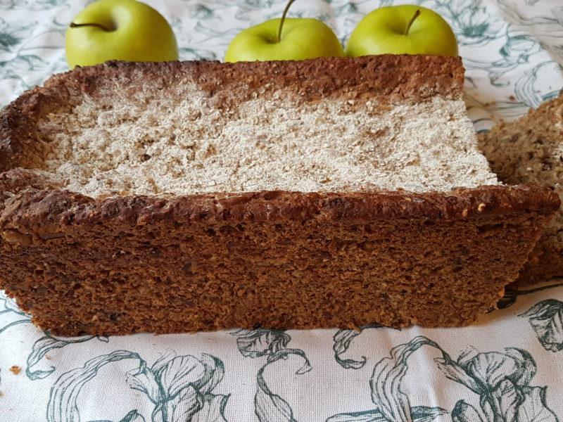 danskt rågbröd äpple