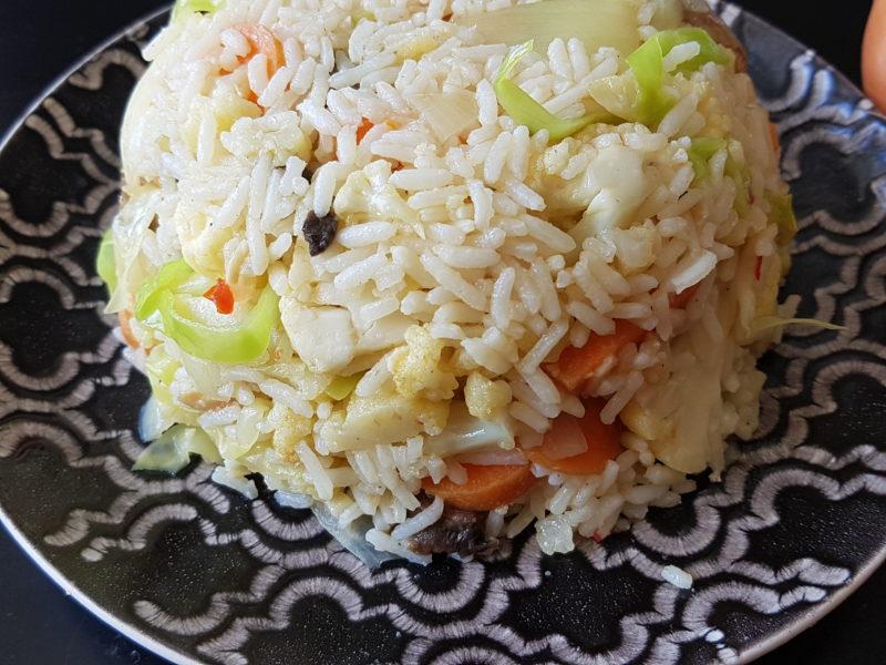 vegetarisk fried rice