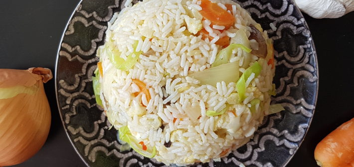 vegetarisk fried rice