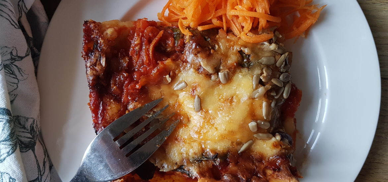 veg lasagne