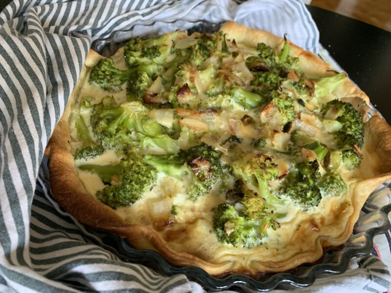 snabb broccolipaj