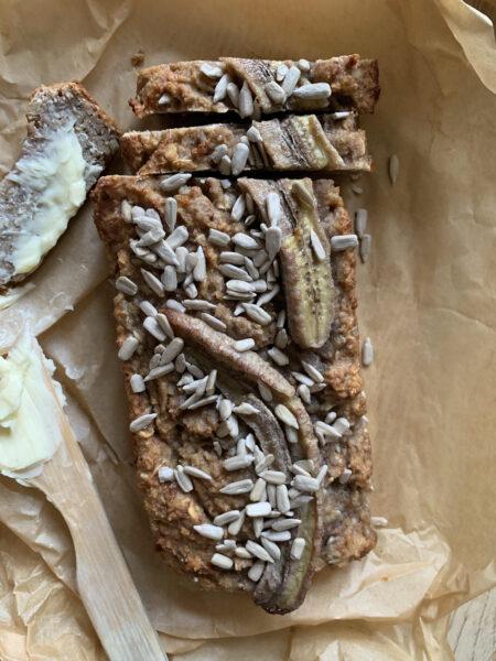 bröd med banan
