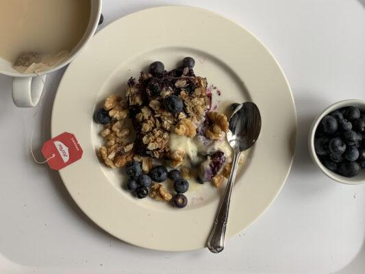 annorlunda frukost helg