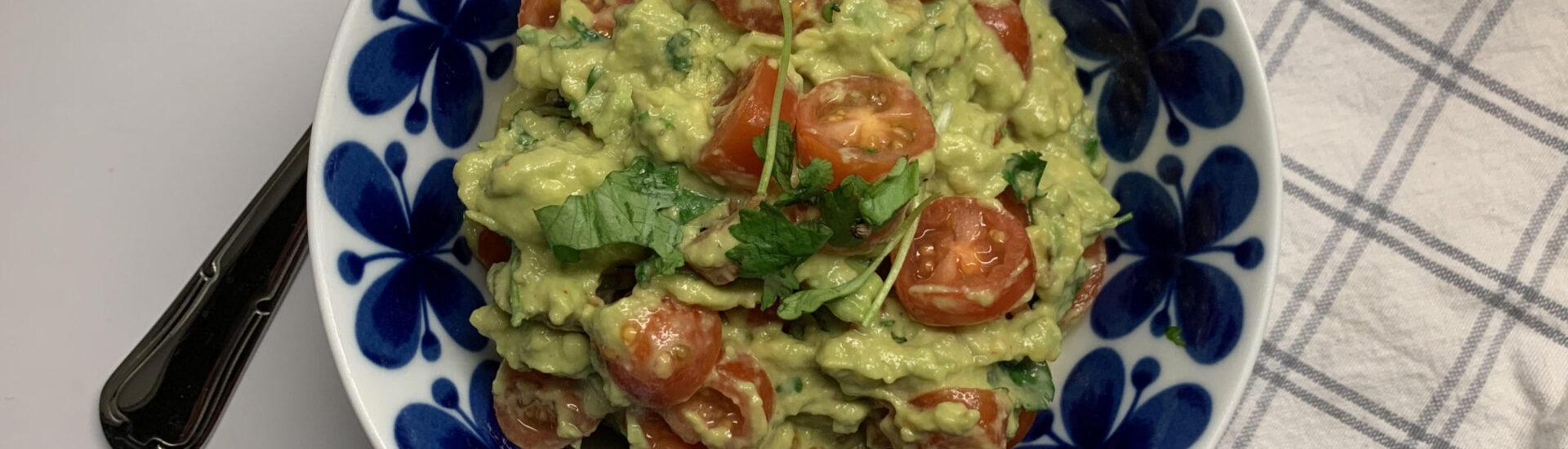 enkel guacamole