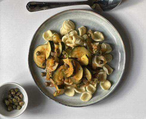 enkel och god pasta