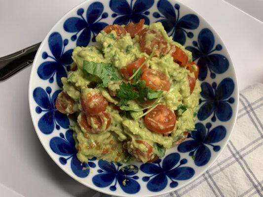 enklaste godaste guacamolen