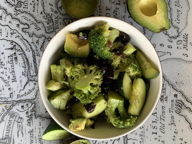 godste veganska salladen