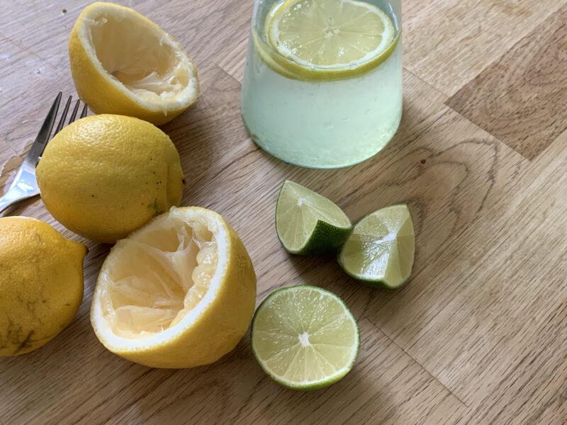 läskande sommardryck citrus