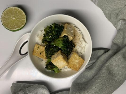 tofu marinerad
