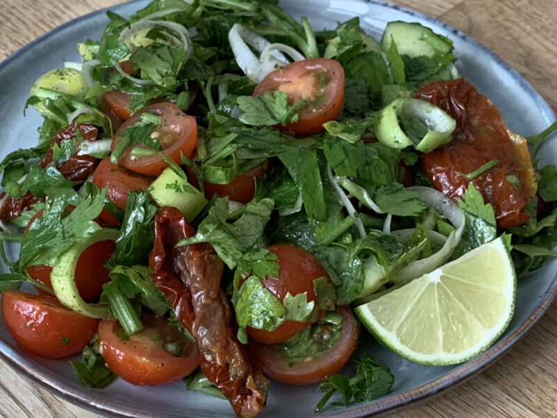 nyttigaste salladen