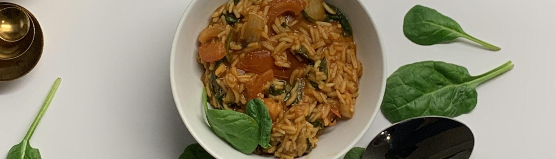 one pot ris vegan