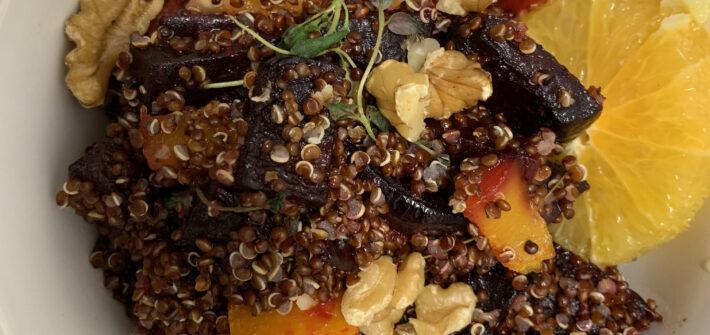 quinoasallad