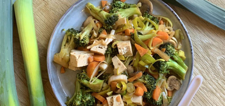 recept med tofu