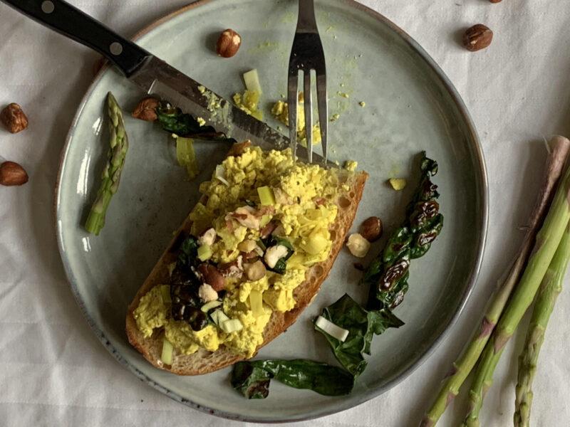 recept på vegansk frukost