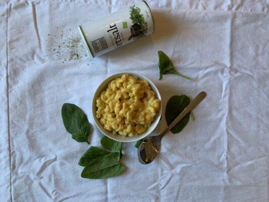 vegansk plantbaserad pasta