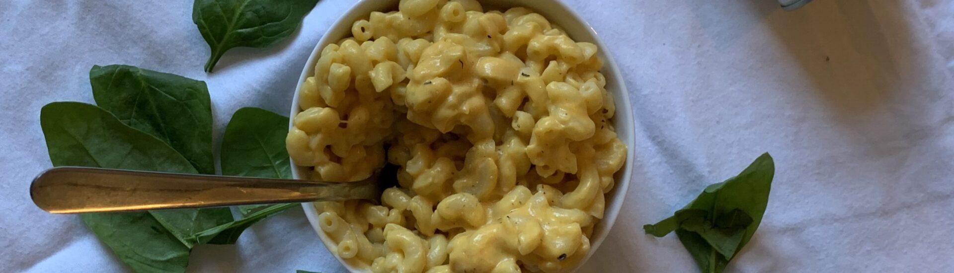 veganska pasta rätt