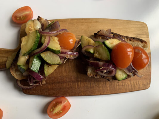 vegetarisk snabbmat