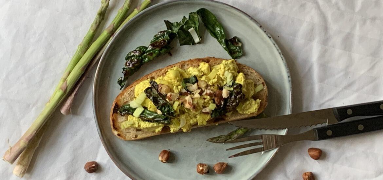 recept på vegansk brunch