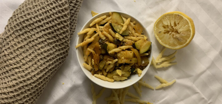 vegansk pastasås